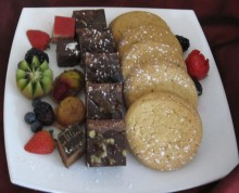 Dessert Plate | Above & Beyond Catering | Picture Gallery