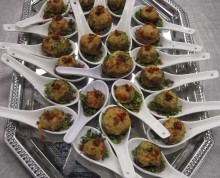 Mushroom Starter | Above & Beyond Catering | Picture Gallery