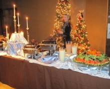 Christmas Buffet | Above & Beyond Catering | Picture Gallery