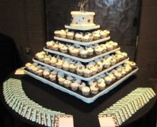 Cupcake Tower | Above & Beyond Catering | Picture Gallery